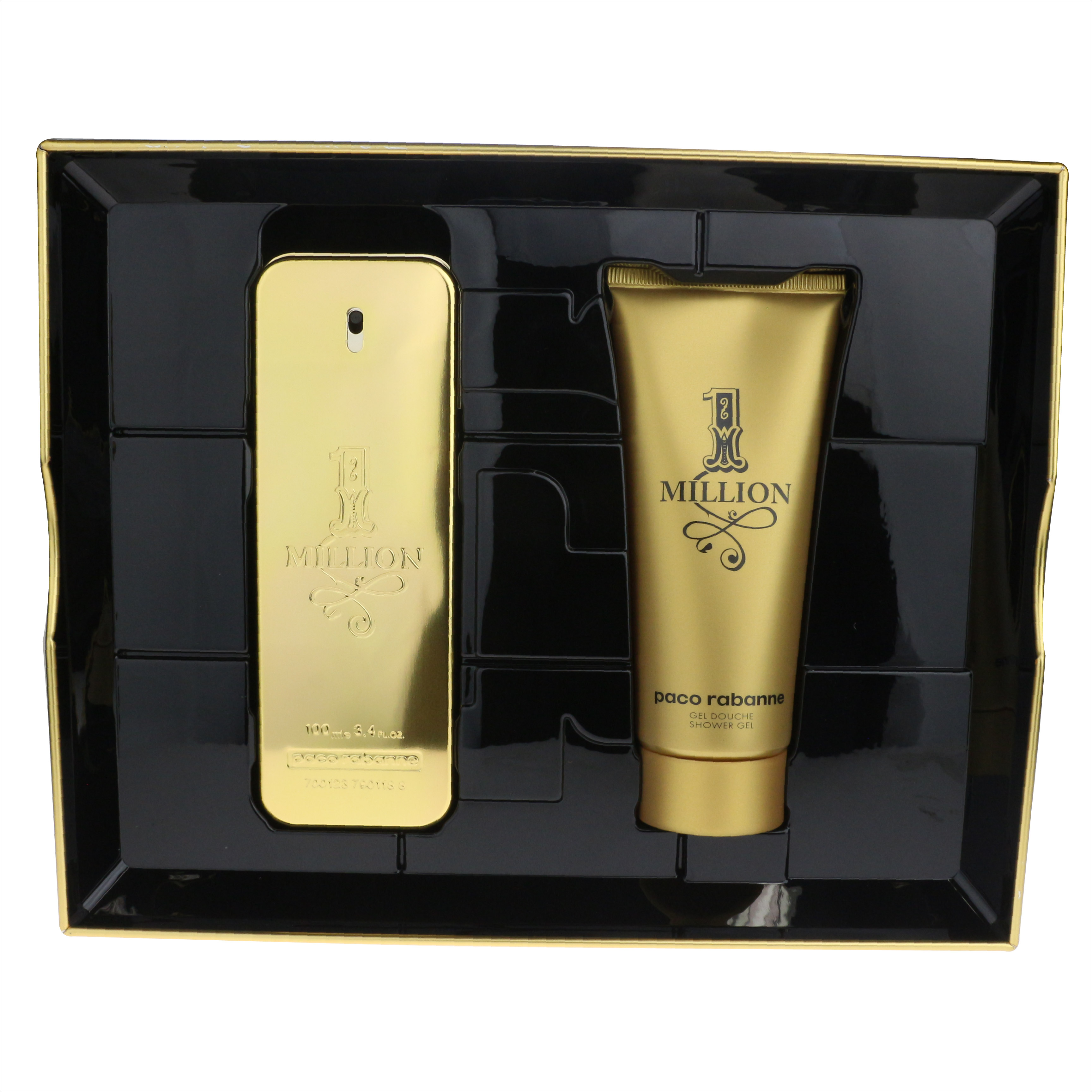 bbb0dc081274 Paco Rabanne 1 Million 2-Piece Gift Set New In Box 3349668559312