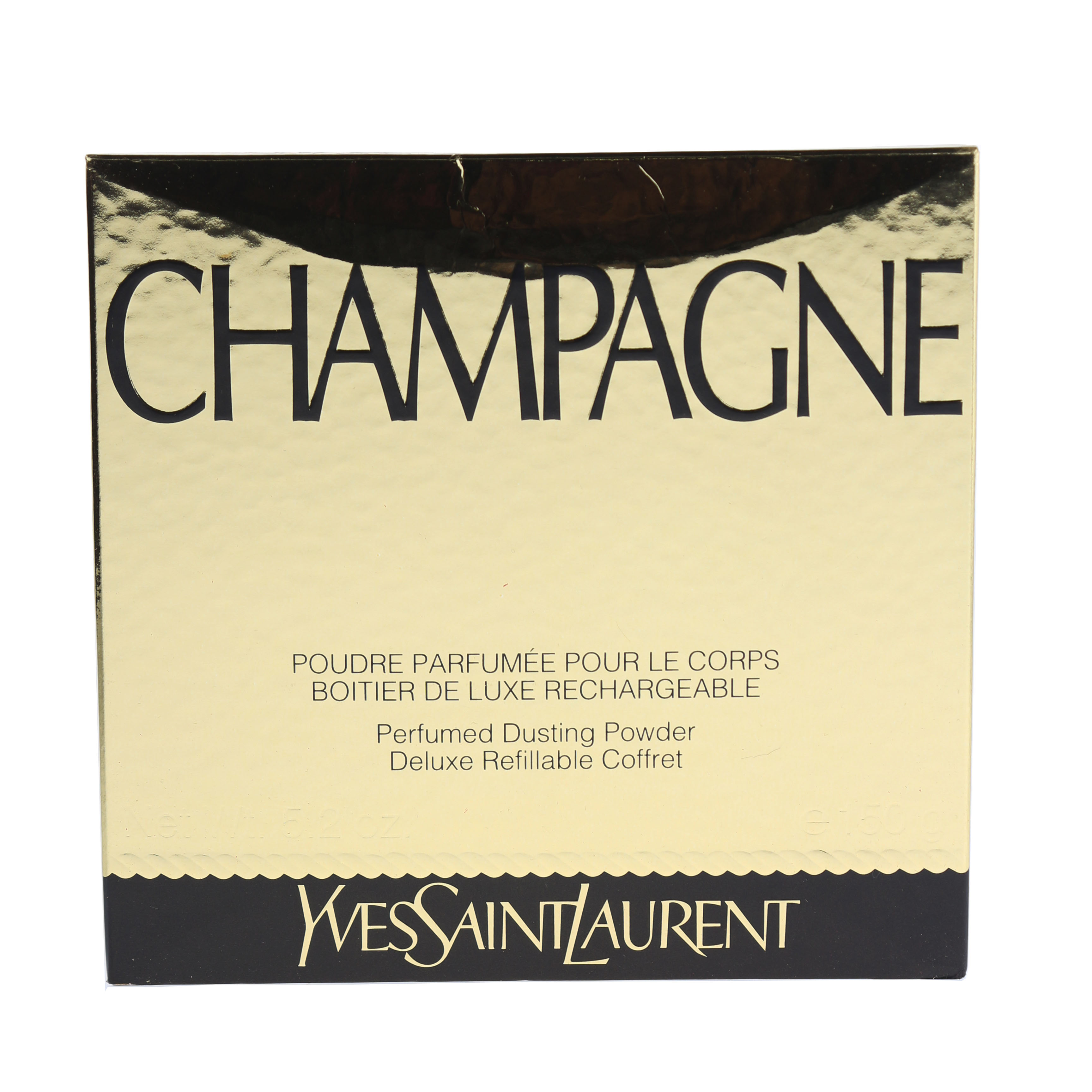 Image is loading Yves-Saint-Laurent-039-Champagne-039-Perfumed-Dusting- cae0c29bd7dd0