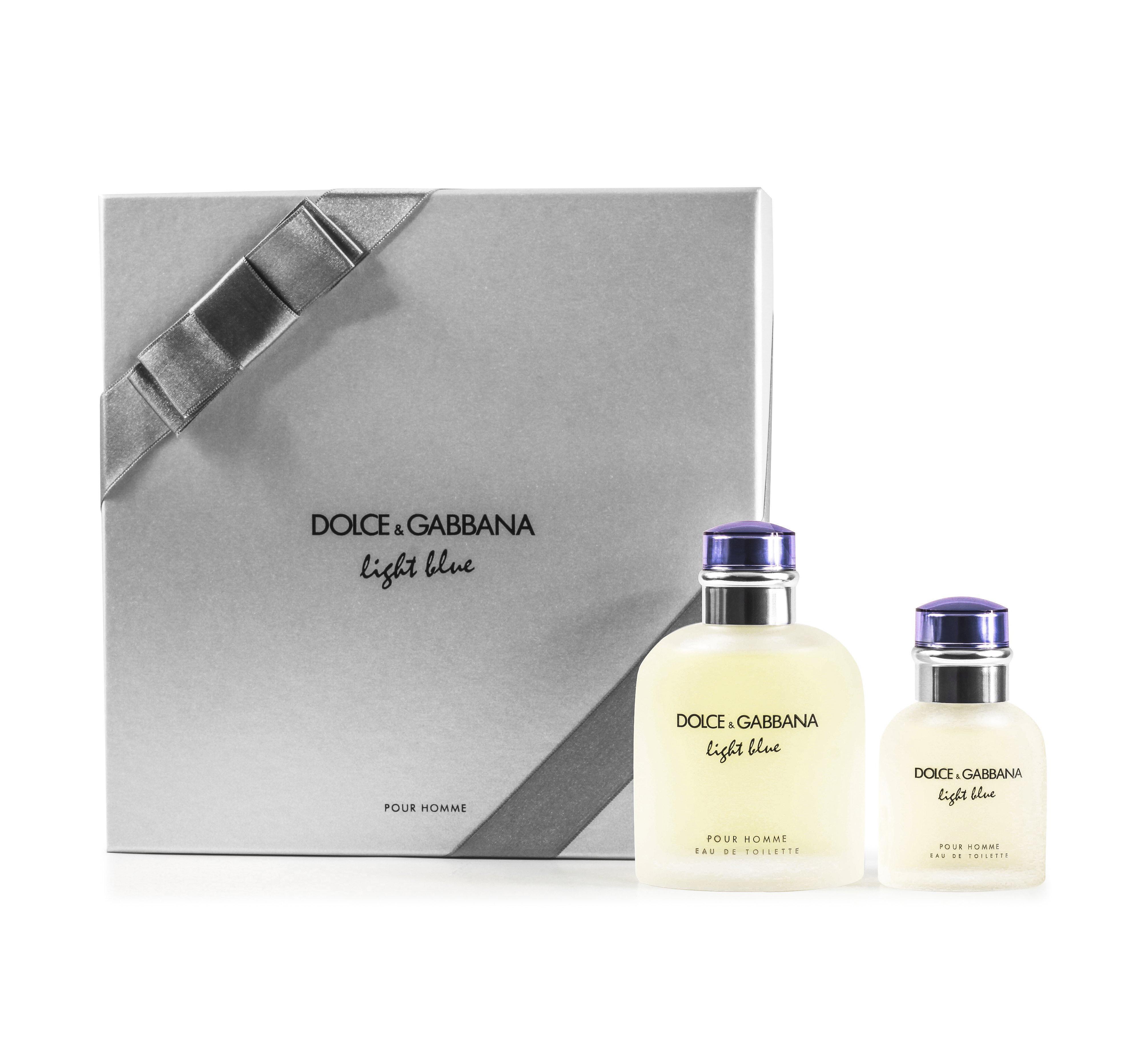 0122d5febaaa99 Dolce   Gabbana Light Blue Pour Homme 2 Piece Gift Set 3423473034254 ...