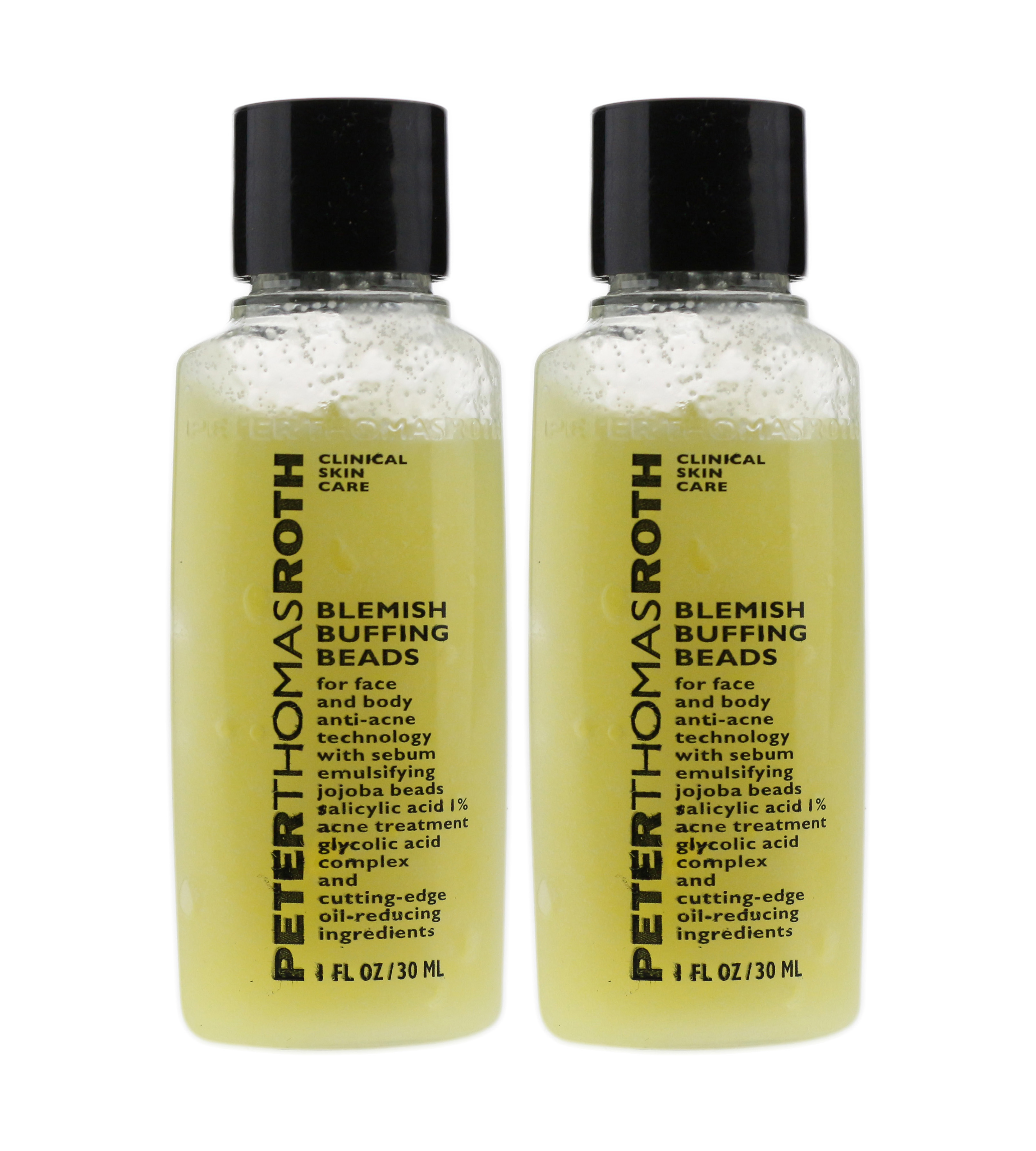 2 Pack - Peter Thomas Roth Blemish Buffing Beads 8.5 oz vital therapy peptide eye treatment cream,  1 ounce