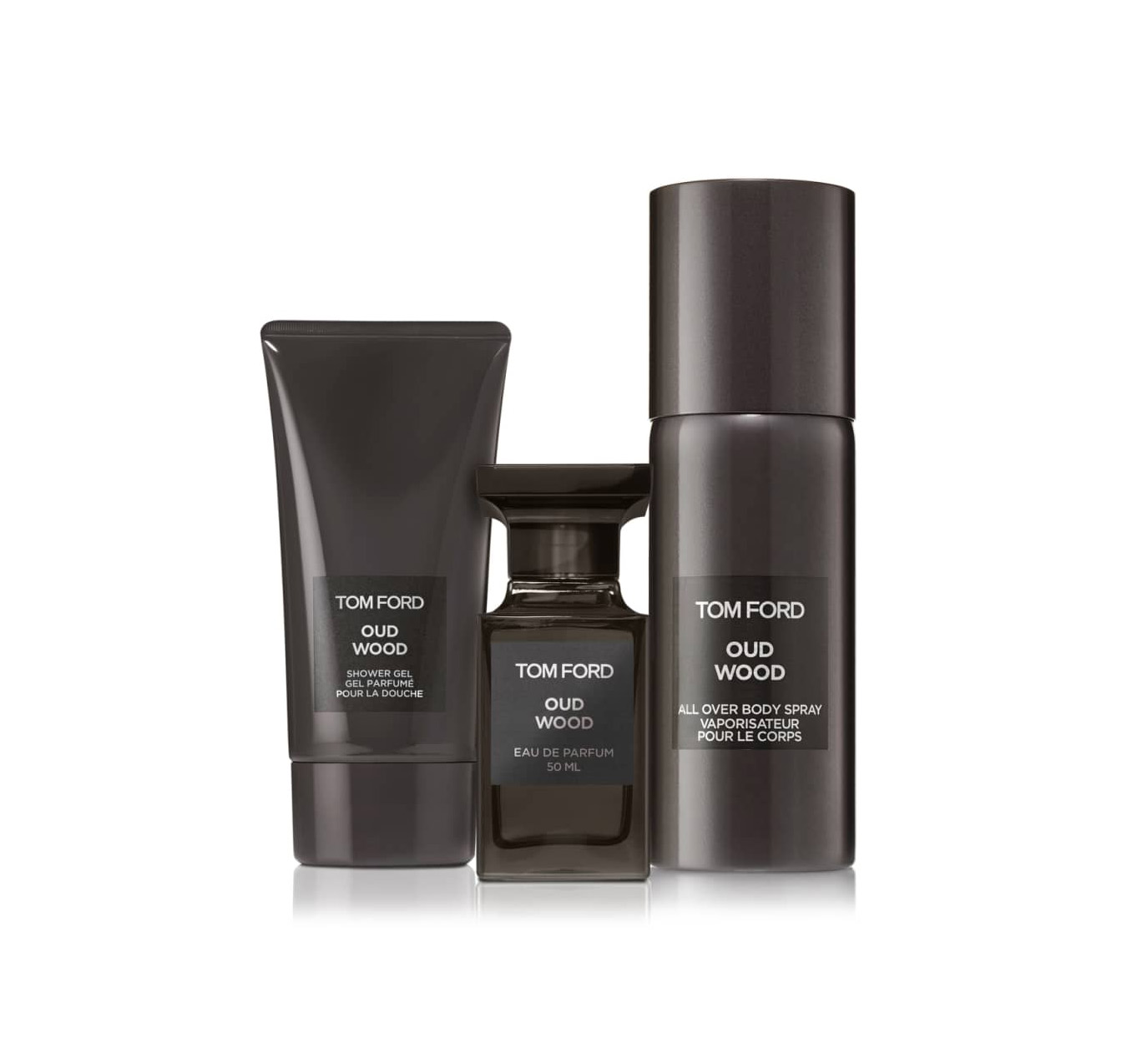 5ea5351b44a1 Tom Ford Oud Wood Collection 3-Piece set New In Box 888066086554